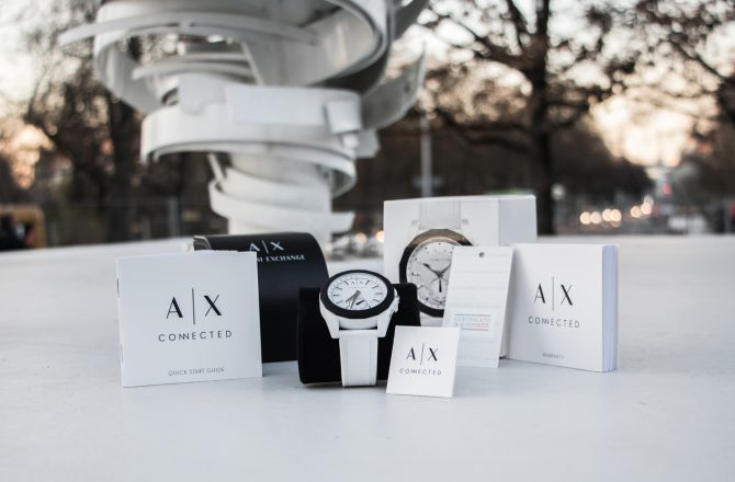 Armani Exchange A|X Connected Hybrid Smartwatch