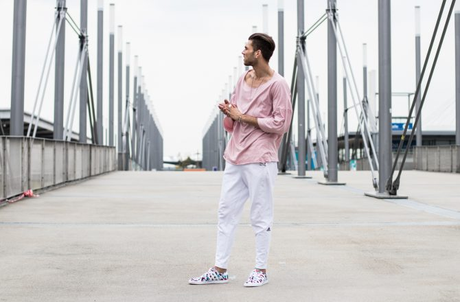 Männer in Rosa und Pink – Who says what is right?