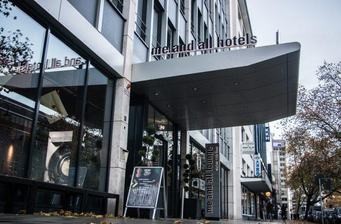 4* me and all hotel bringt Abwechslung- Japanisch mitten in Düsseldorf