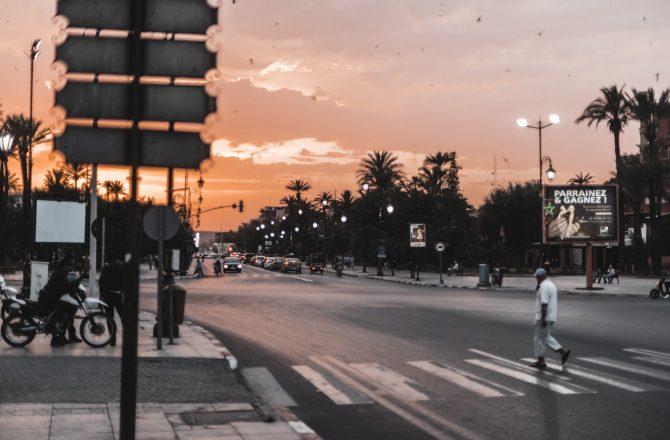 Marrakesch – Erkundung einer roten Stadt